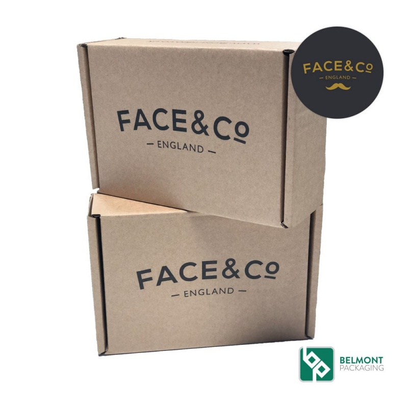 Face & Co Printed cardboard box