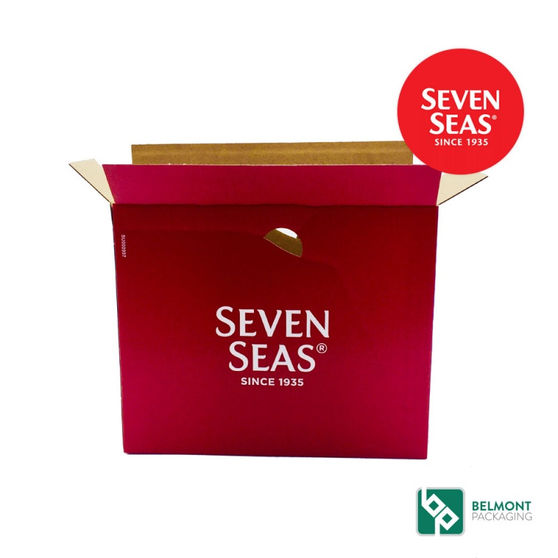 Seven Seas Shelf Ready and Retail Packaging