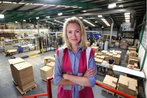 Kate Hulley director of Belmont Packaging
