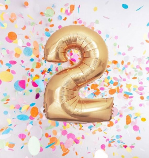 Today we turn Two!