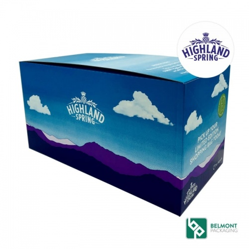 Highland Spring Custom Packaging