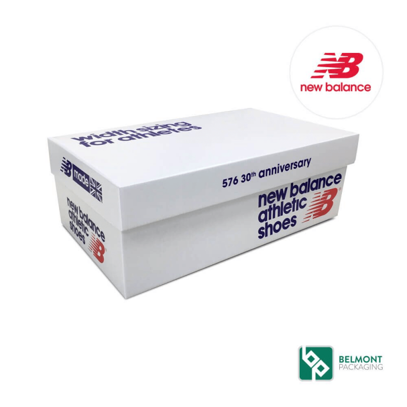 New Balance Show Box Packaging