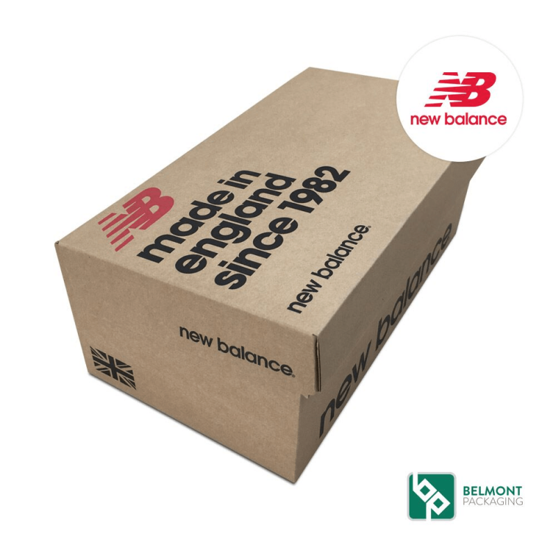 New Balance Shoe Box Packaging