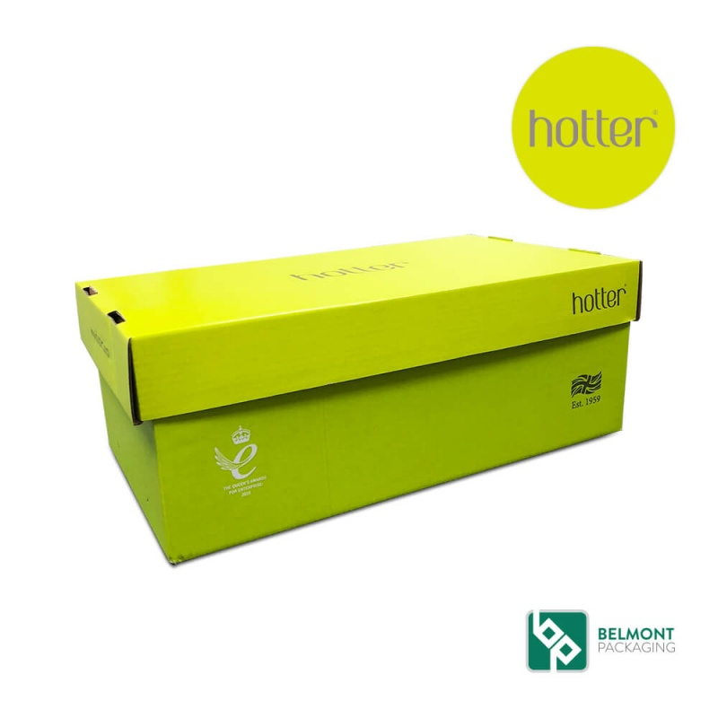 Hotter Shoe Box Packaging