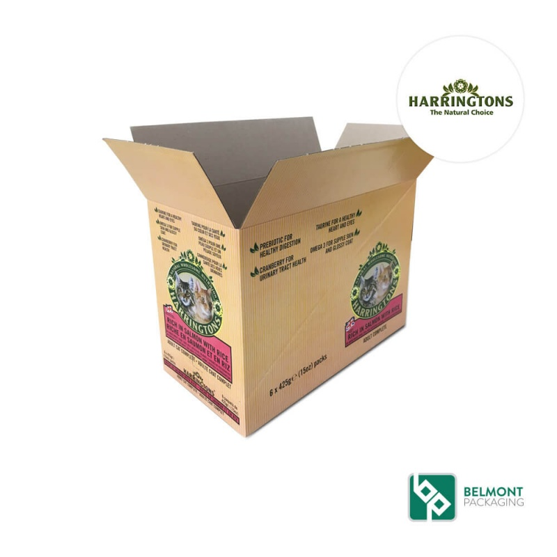 Retail ready Packaging- Harringtons