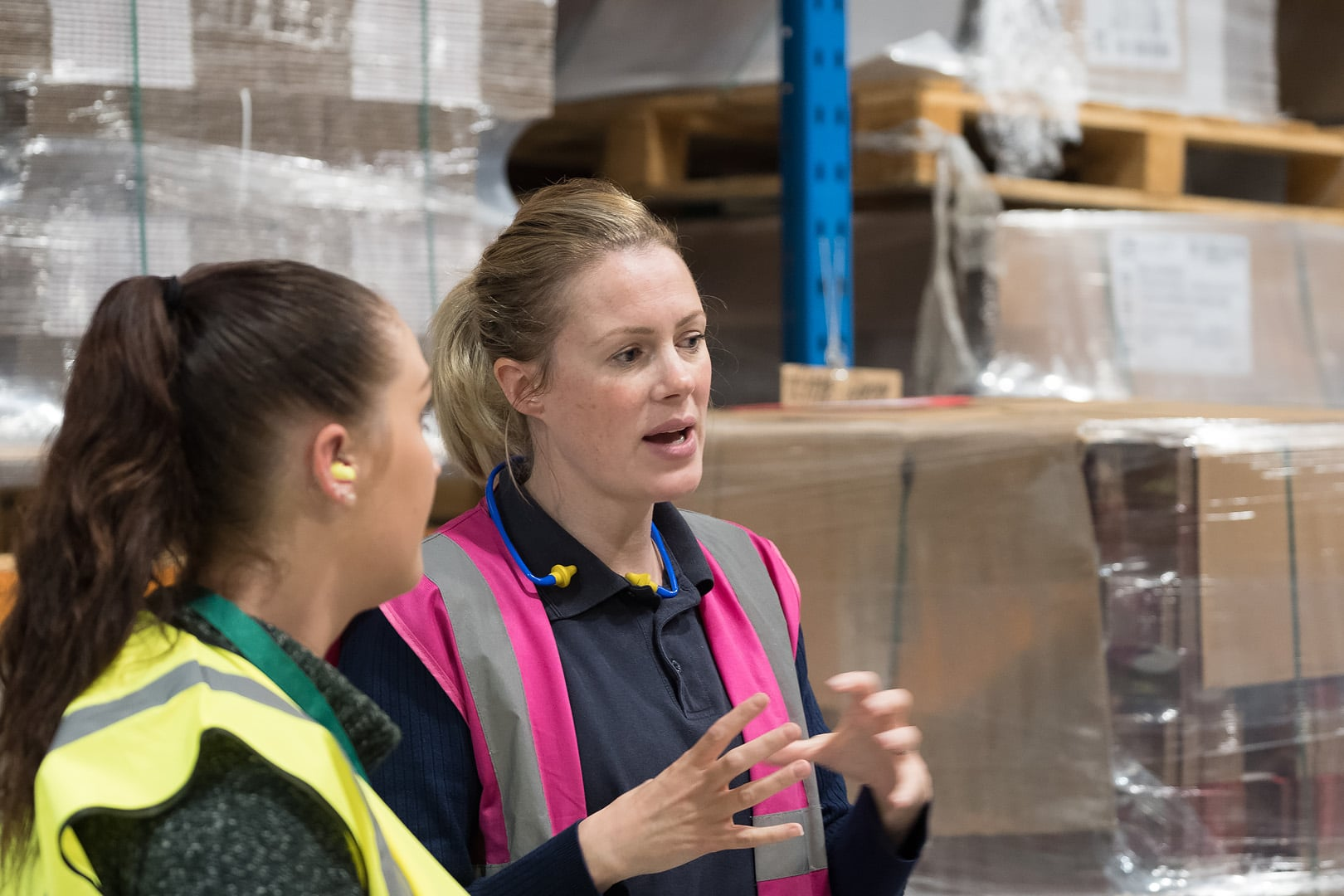 Kate Hulley, MD of Belmont Packaging