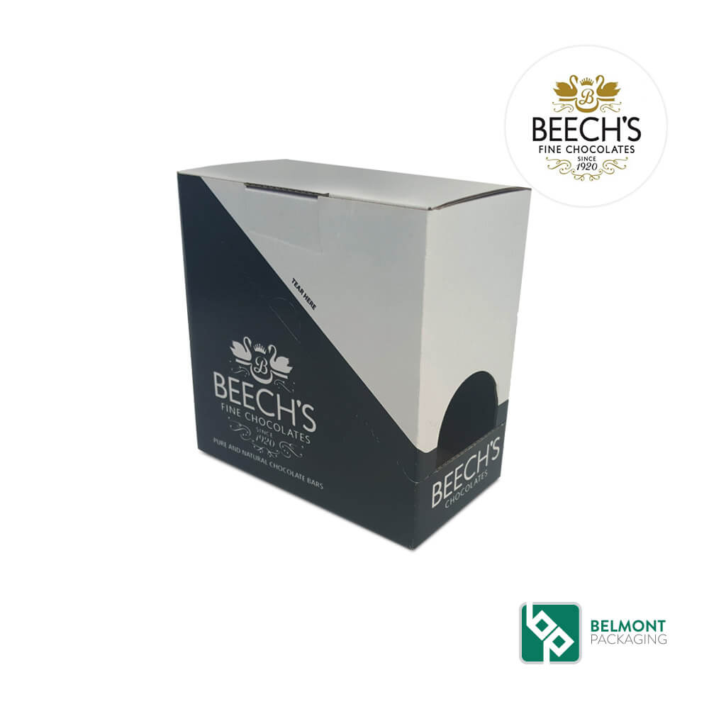 Retail Ready Packaging- Beech's Fine Chocolates